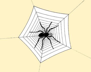 паук в системном блоке