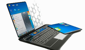 ноутбук-трансформер